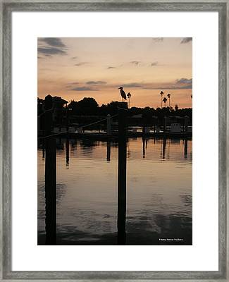 Sarasota Sunset1 Framed Print