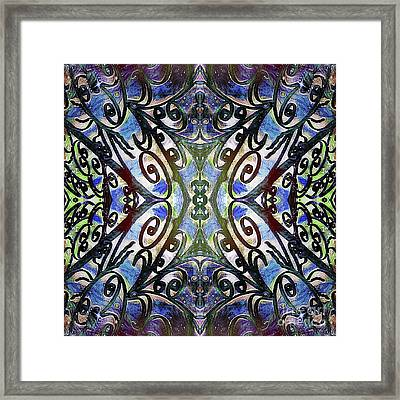 Sarasota Swirls Framed Print