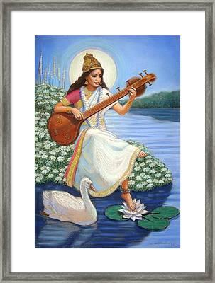 Sarasvati Framed Print
