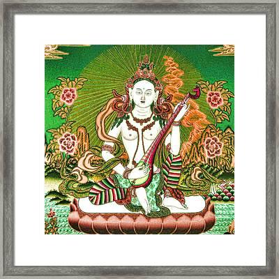 Saraswati 11 Framed Print by Lanjee Chee