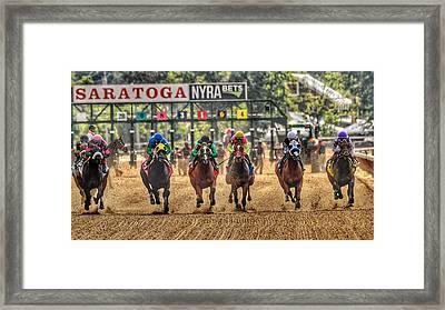 Saratoga Framed Print