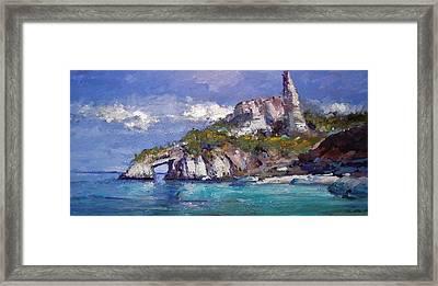 Sardinia II Framed Print by R W Goetting