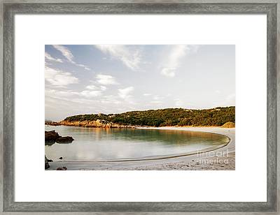 Framed Print featuring the photograph Sardinian View by Yuri Santin