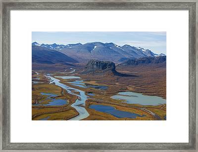 Sarek Nationalpark Framed Print