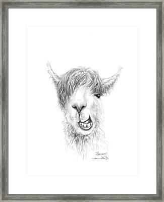 Saren Framed Print