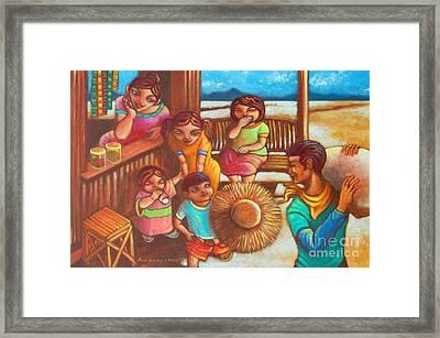 Sari-saring Saya At Alaala Framed Print