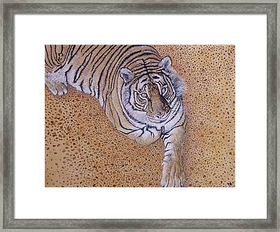 Framed Print featuring the painting Sasha by Tom Roderick