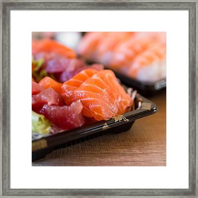 Sashimi Framed Print