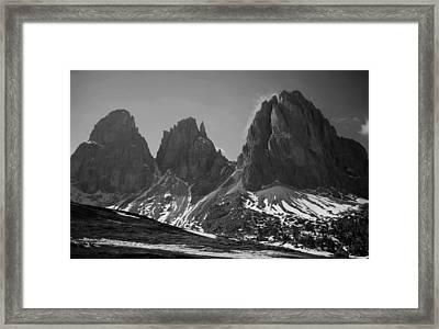 Sasso Lungo Framed Print by Juergen Weiss