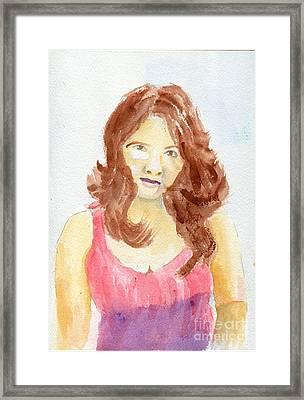 Sassy Framed Print by Joe Hagarty
