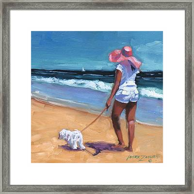 Sassy Jr Framed Print by Laura Lee Zanghetti