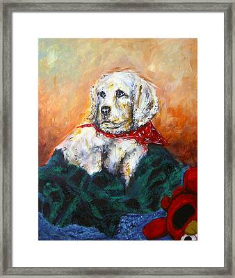 Framed Print featuring the painting Sassy by Thomas Lupari