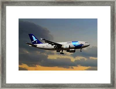 Sata Airlines Framed Print