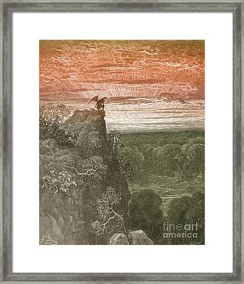 Satan, By Dore Framed Print by Photo Researchers