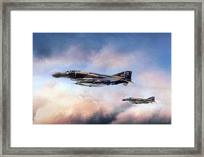 Satan's Angels Framed Print by Peter Chilelli