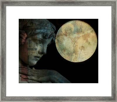 Satellite Of Love  Framed Print