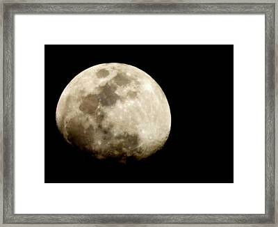 Satellite Serenade  Framed Print