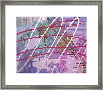 Satellites Framed Print by Melissa Goodrich
