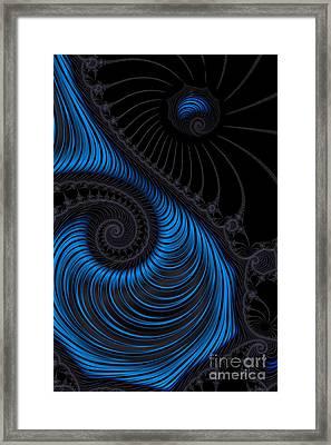 Satin And Velvet Framed Print by Ann Garrett