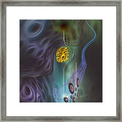 Satisfaction Framed Print
