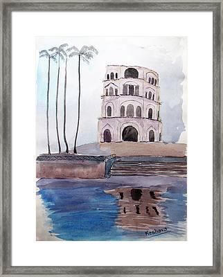 Satkhanda Lucknow Framed Print