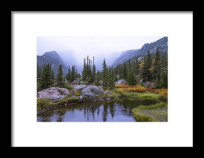 Rockies Framed Prints
