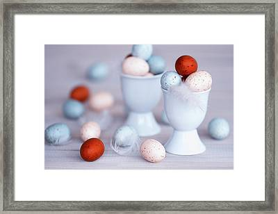 Saturated Sunday Framed Print