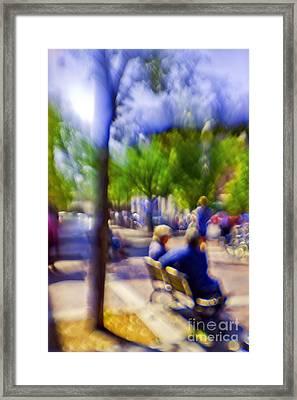 Saturday Afternoon II Framed Print by Madeline Ellis