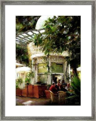 Saturday In The Park Framed Print by Declan O'Doherty
