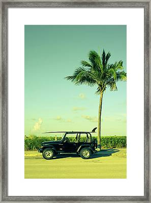 Saturday Framed Print by Laura Fasulo