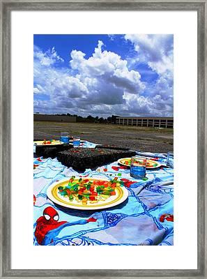 Saturday Morning Dream Framed Print