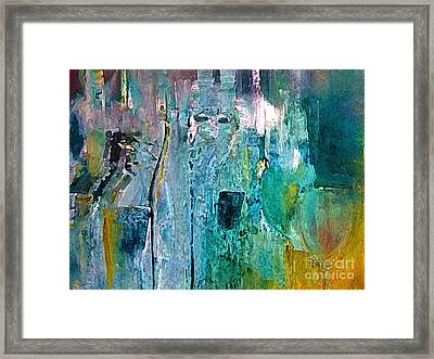 Saturday Night Party Line Framed Print by Lisa Kaiser