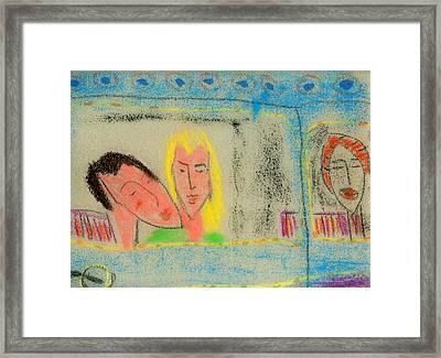 Saturday Nite Hot Framed Print by Jerry Hanks