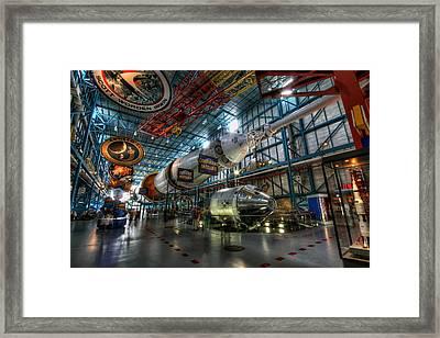 Saturn 5 Framed Print