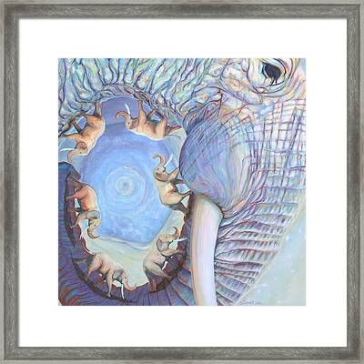 Saturn Framed Print by Sarah Soward