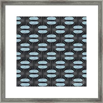 Saucers Framed Print