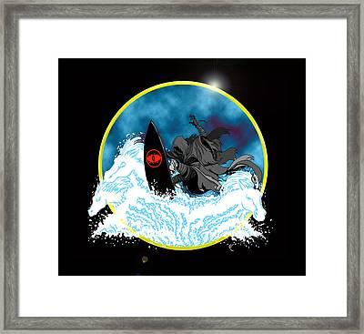 Sauron Jon Framed Print