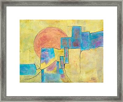 Sausalito Framed Print by Nancy Jolley