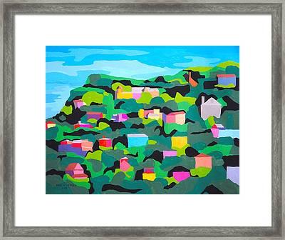 Sausalito Framed Print by Paul Larson