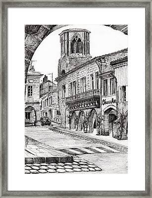 Sauveterre Framed Print by Vincent Alexander Booth