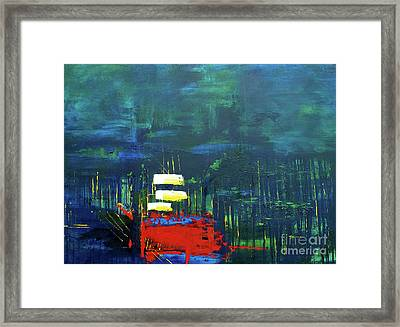 Savage Forest From The Light Series Framed Print by Nickola McCoy-Snell
