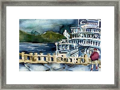 Savanah Queen Framed Print by Mindy Newman