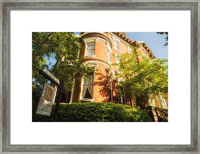 Savannah Architecture 2 Framed Print by Gestalt Imagery