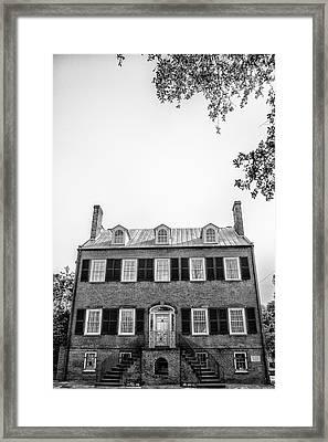Savannah Architecture 3 Framed Print