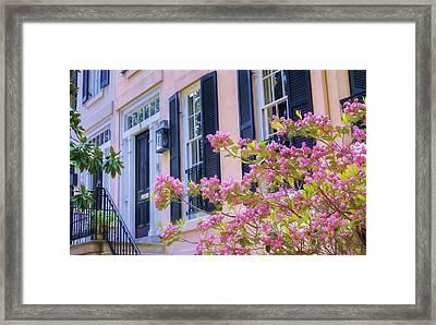 Savannah Doorway Framed Print