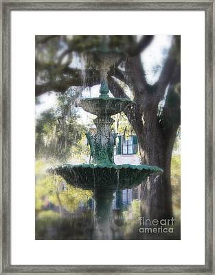 Savannah Green Framed Print by Carol Groenen