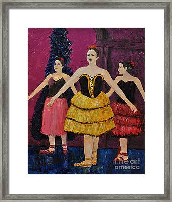 Savannah Framed Print by Reb Frost