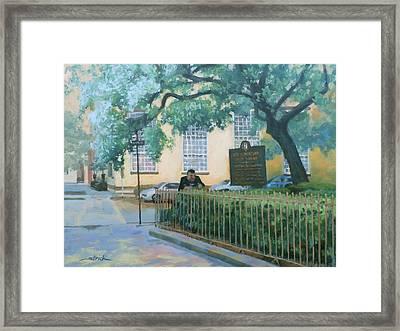Savannah Shade Framed Print by Carol Strickland