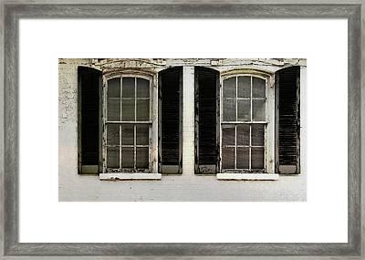 Savannah Shutter Framed Print by JAMART Photography