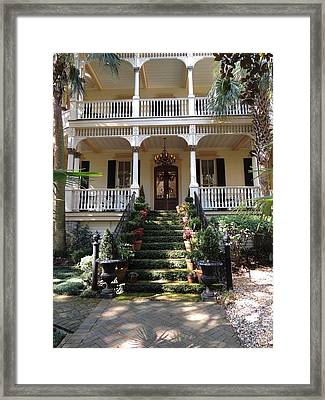 Southern Style Framed Print